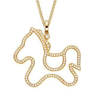 vente bijou or jaune pendentif