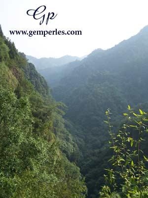 Montagnes de Shao Xin