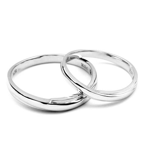alliances bijoux mariage alliances duo or blanc 18cts diamants. Black Bedroom Furniture Sets. Home Design Ideas
