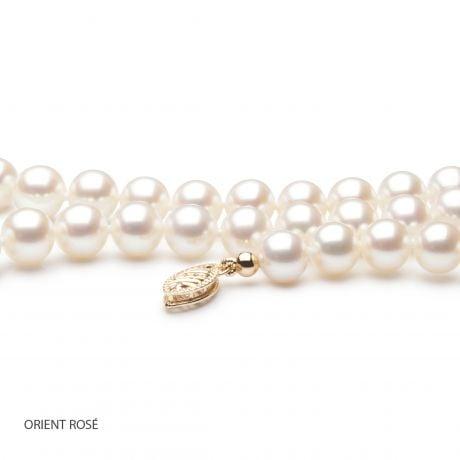 Collier mariage - Perles de culture d'eau douce blanches - 6.5/7mm