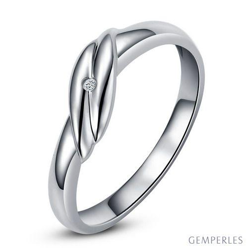 Bijou alliance mariage - Alliance Femme - Platine - Diamant - 5
