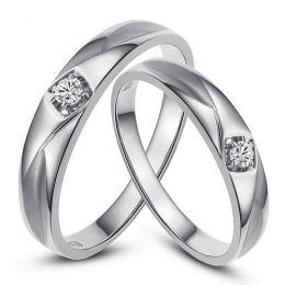 Alliances diamants or blanc - Alliances Duo
