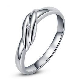 Bijou alliance mariage - Alliance Femme - Platine - Diamant