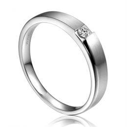 Alliance de fiançaille 2012 - Alliance pour Homme - Platine, diamant