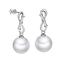 Boucles d'oreilles Bambou - Pendants oreilles perles de culture