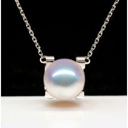 Pendentif Morita. Perles Akoya Japon et Or blanc 18cts