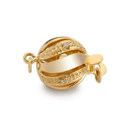 Boule or jaune 18ct, diamants