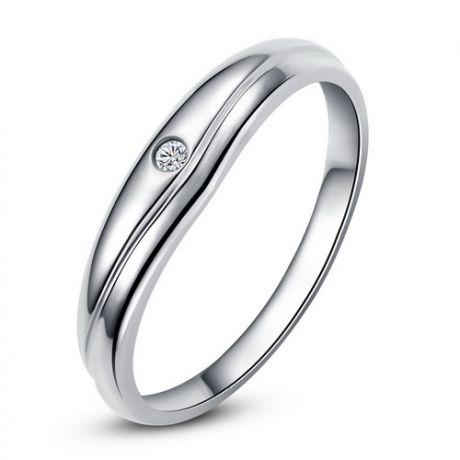 Modèle alliance mariage - Alliance classique Femme - Platine, diamant