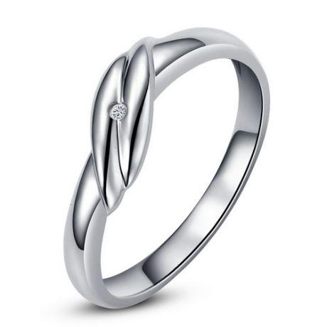 Bijou alliance mariage - Alliance Homme - Or blanc - Diamant