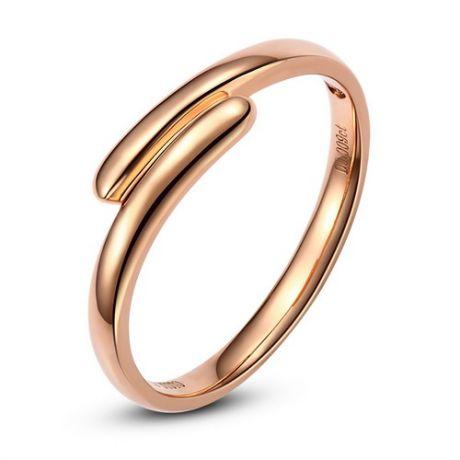 Alliance Femme. Or rose. Diamant 0.009ct
