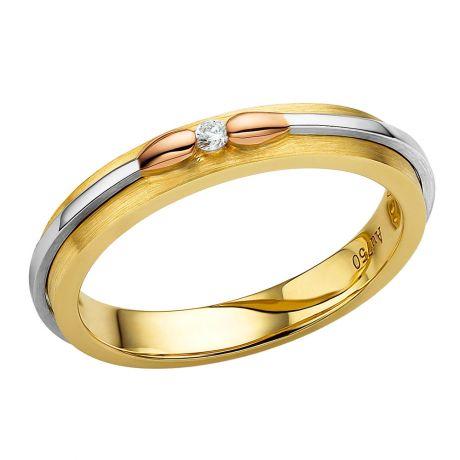 Alliance 3 ors et Diamants - Collection des Allumettes diamantées