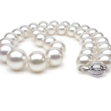 Collier grosse perle - Collier de perles de culture - 11.5/12.5mm