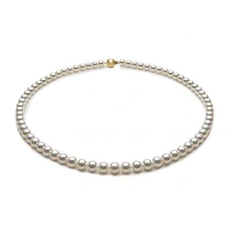 Collier de perles Akoya du Japon - 5.5/6mm - AAA