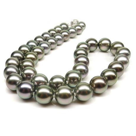Collier en perles bronzes de Tahiti - 9/10.6mm, AAB