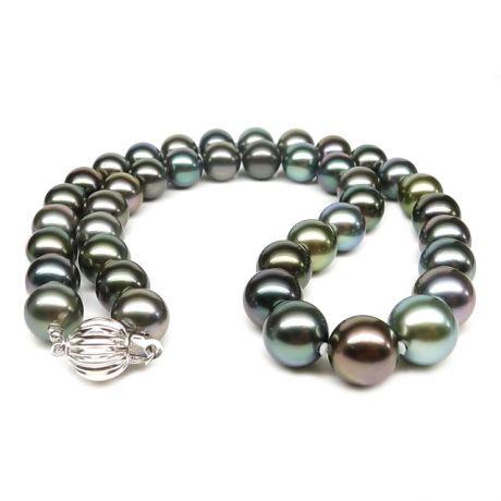 Collier en perles de culture des Tahiti - 9/10mm