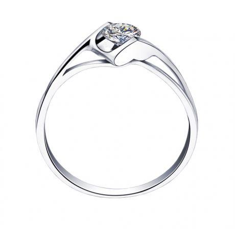 Solitaire diamant 0.20 carat - Victor Hugo, A Jeanne