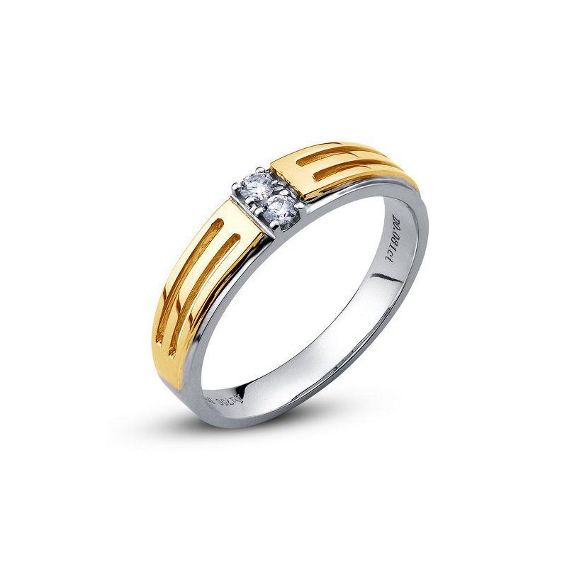 Souvent Alliances or et diamant pour femme et homme - Gemperles BJ18