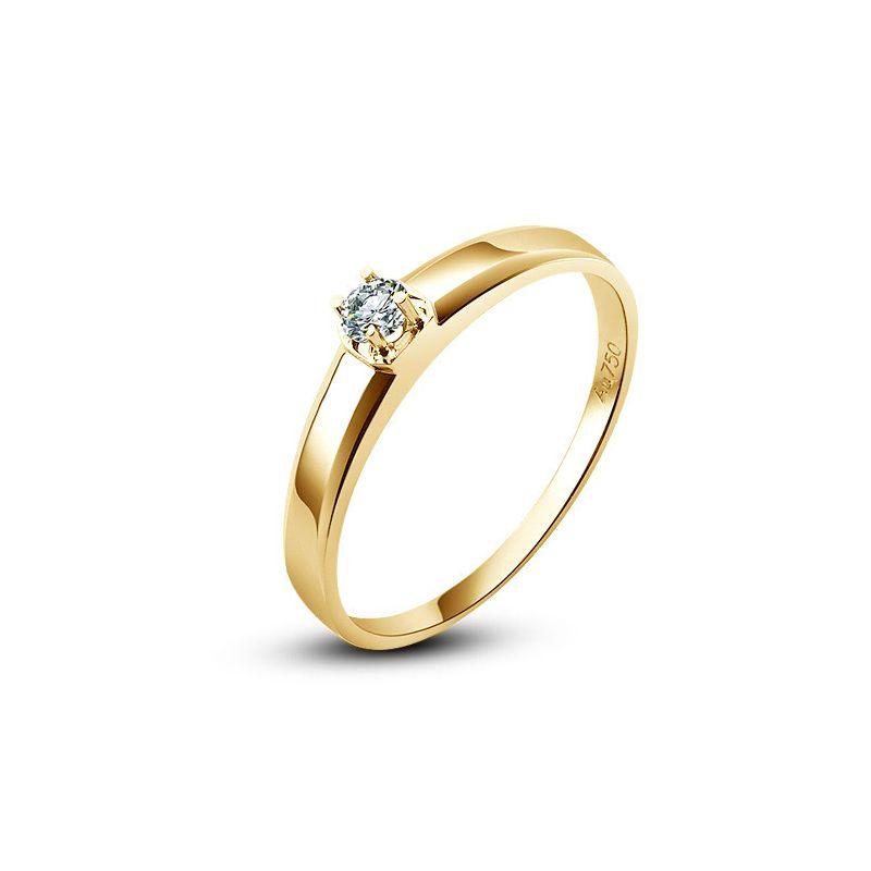 Alliance mariage originale - Alliance Homme - Or jaune - Diamant