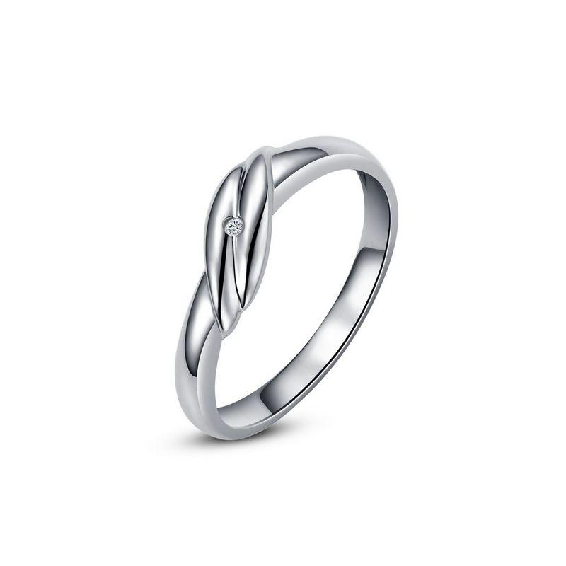 Bijou alliance mariage - Alliance Homme - Platine - Diamant