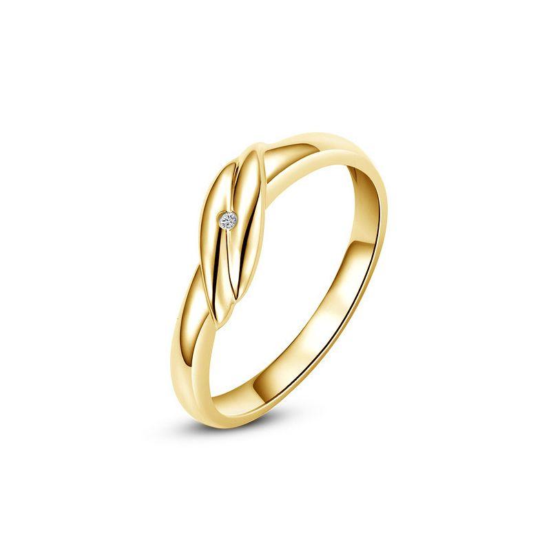 Bijou alliance mariage - Alliance Homme - Or jaune - Diamant