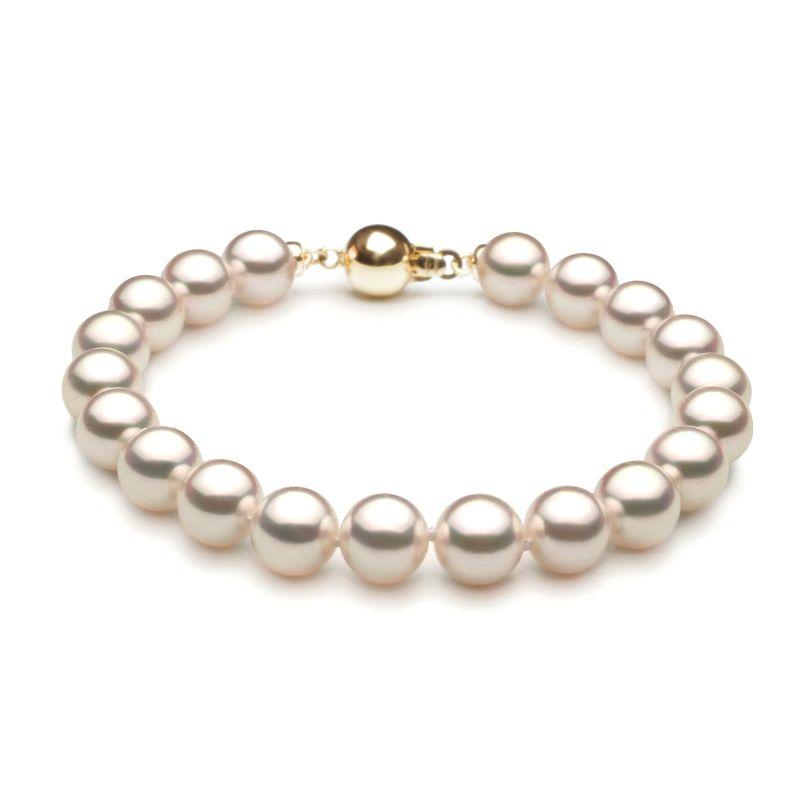 Bracelet perle Akoya - Perles du Japon - 7/7.5mm, AAA
