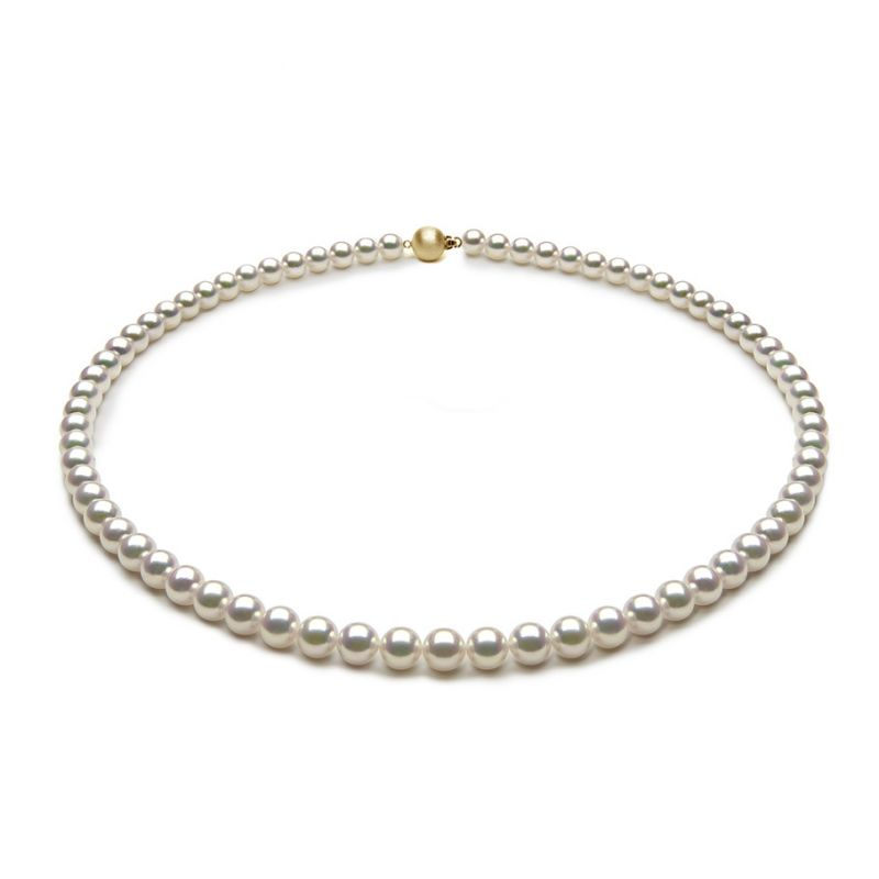 Collier de perles Akoya du Japon - 5.5/6mm - AAA