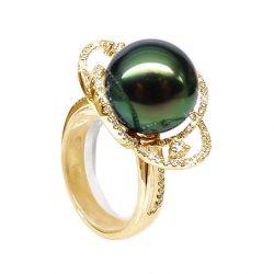 bague perle tahiti belle qualité