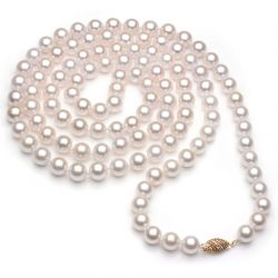 Collier perles Akoya Guadeloupe