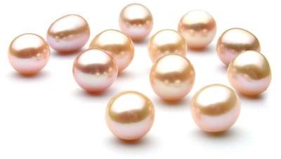 Perle d'acqua dolce multicolore sfuse