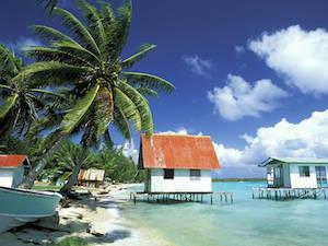 Ferme perlière à Tahiti