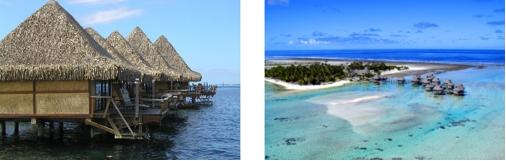 Fermes perlières à Tahiti