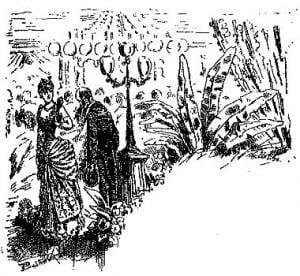 Illustration Parure de Maupassant
