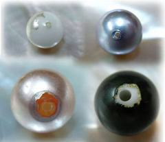 Fausses perles, perles d'imitations