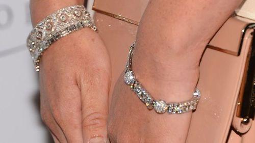 Parure de bracelets en diamants