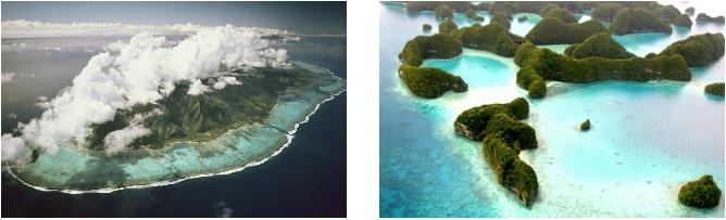 Atolls Polynésiens