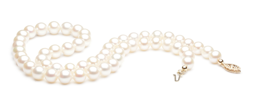 Collier de perles homogènes