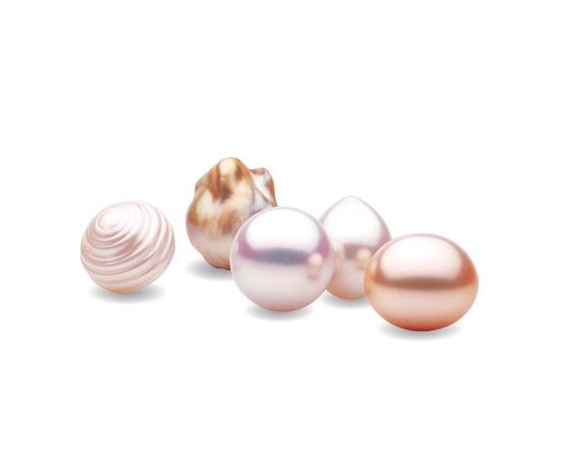 Différentes formes de perles