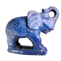 Éléphant en lapis-lazuli
