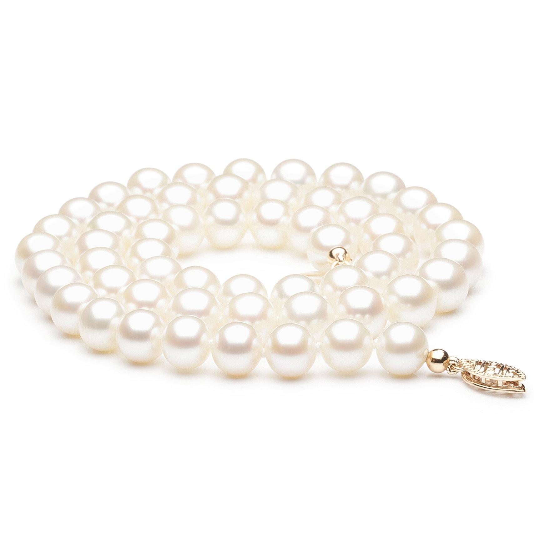Collier en perles de culture d'eau douce