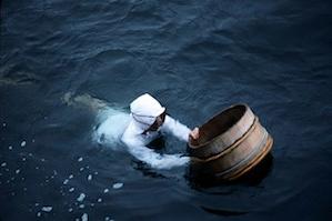 Pêche traditionnelle en apnée des Ama