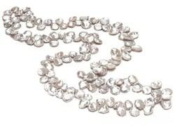 Collier de perles keshi chinoises
