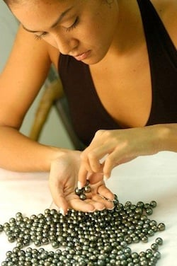 Hamonisation des perles, triage