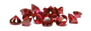 Quantité de rubis